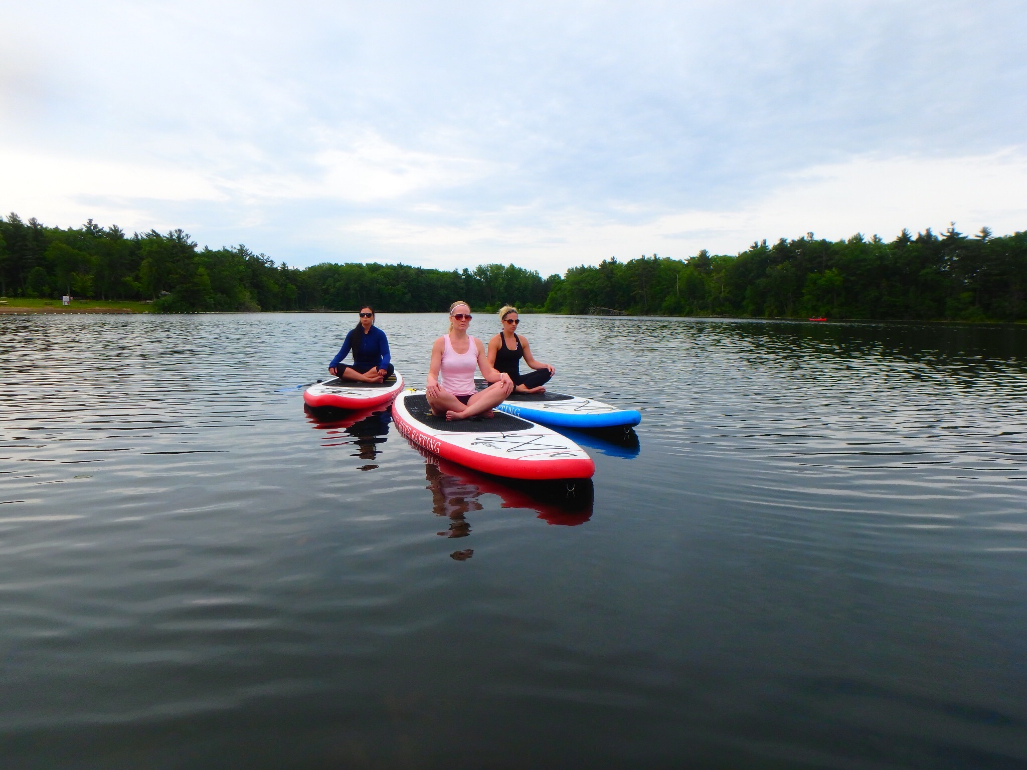 Kayaking Yoga and Meditation June 16, 2018-3