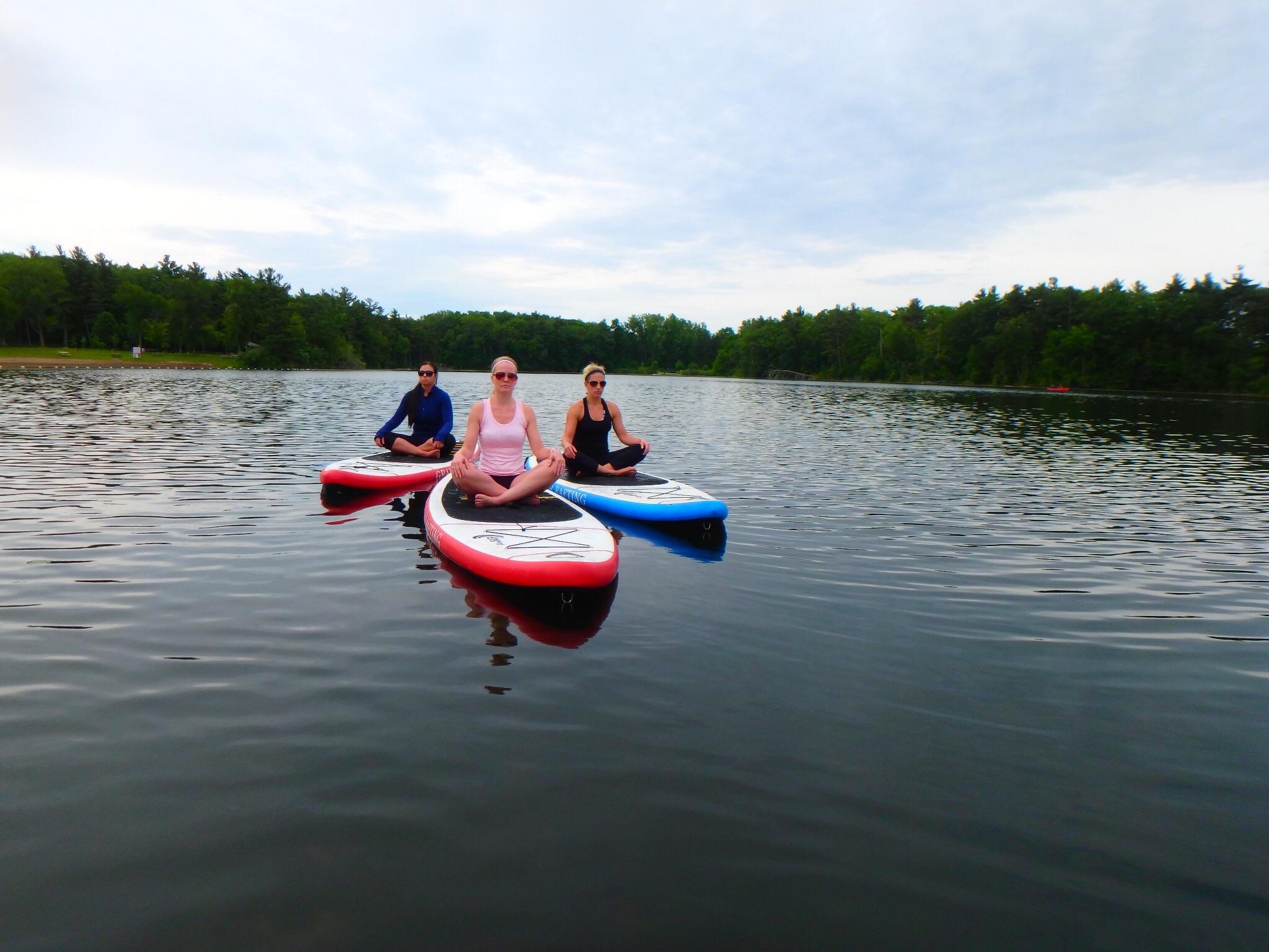 Kayaking Yoga and Meditation June 16, 2018-4
