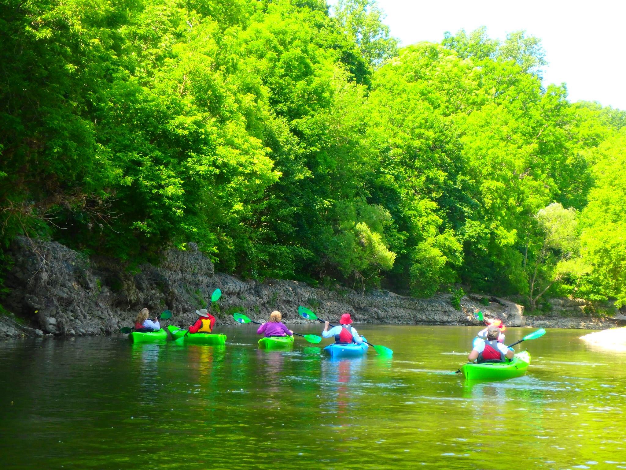 Kayaking Yoga Meditation - Solstice - Jun 21 2018-4