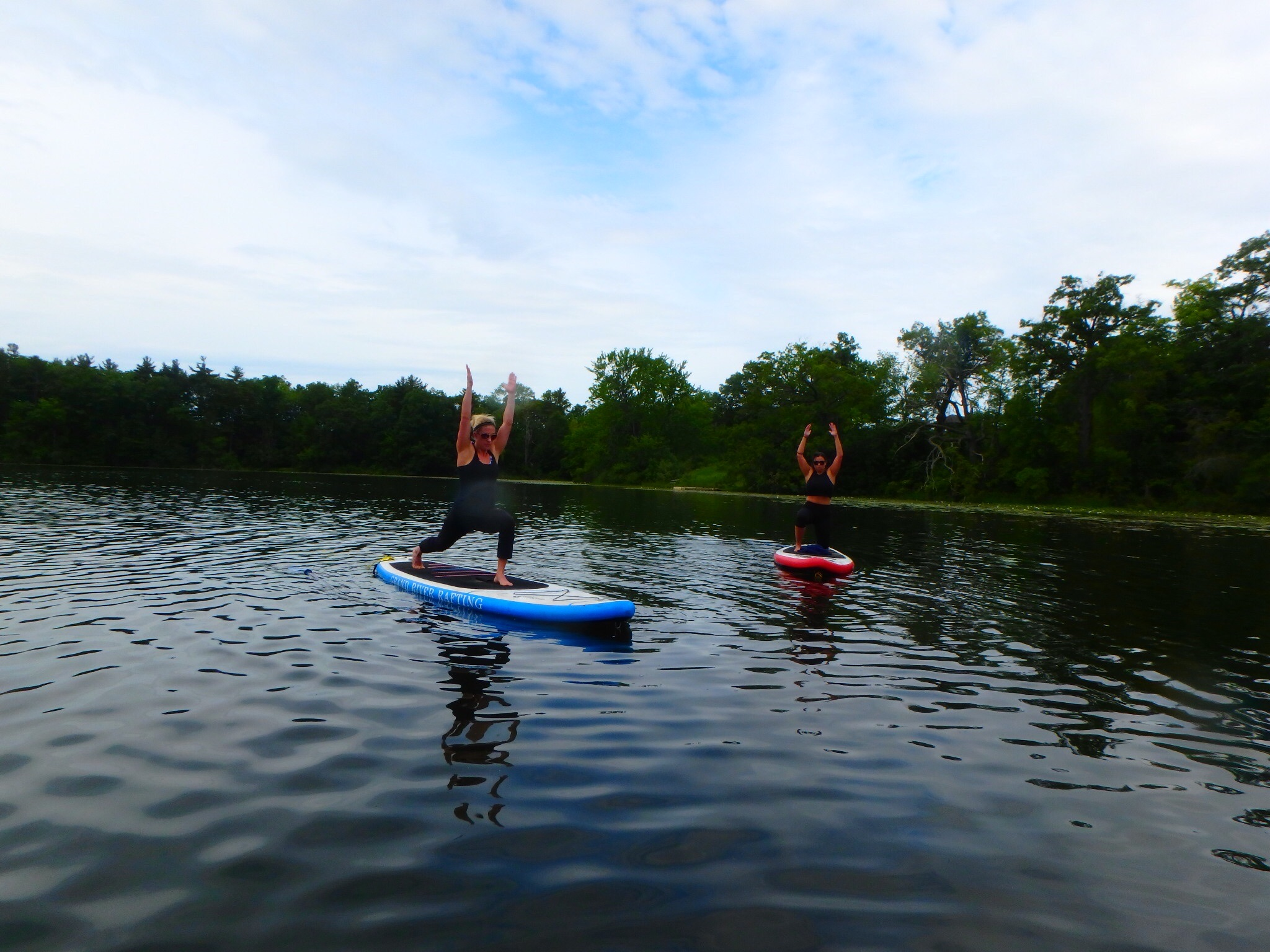 Kayaking Yoga and Meditation June 16, 2018-8