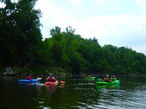 Kayaking Yoga Meditation Jun 13-18-10