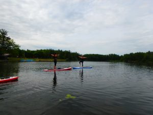 Kayaking Yoga and Meditation June 16, 2018-13