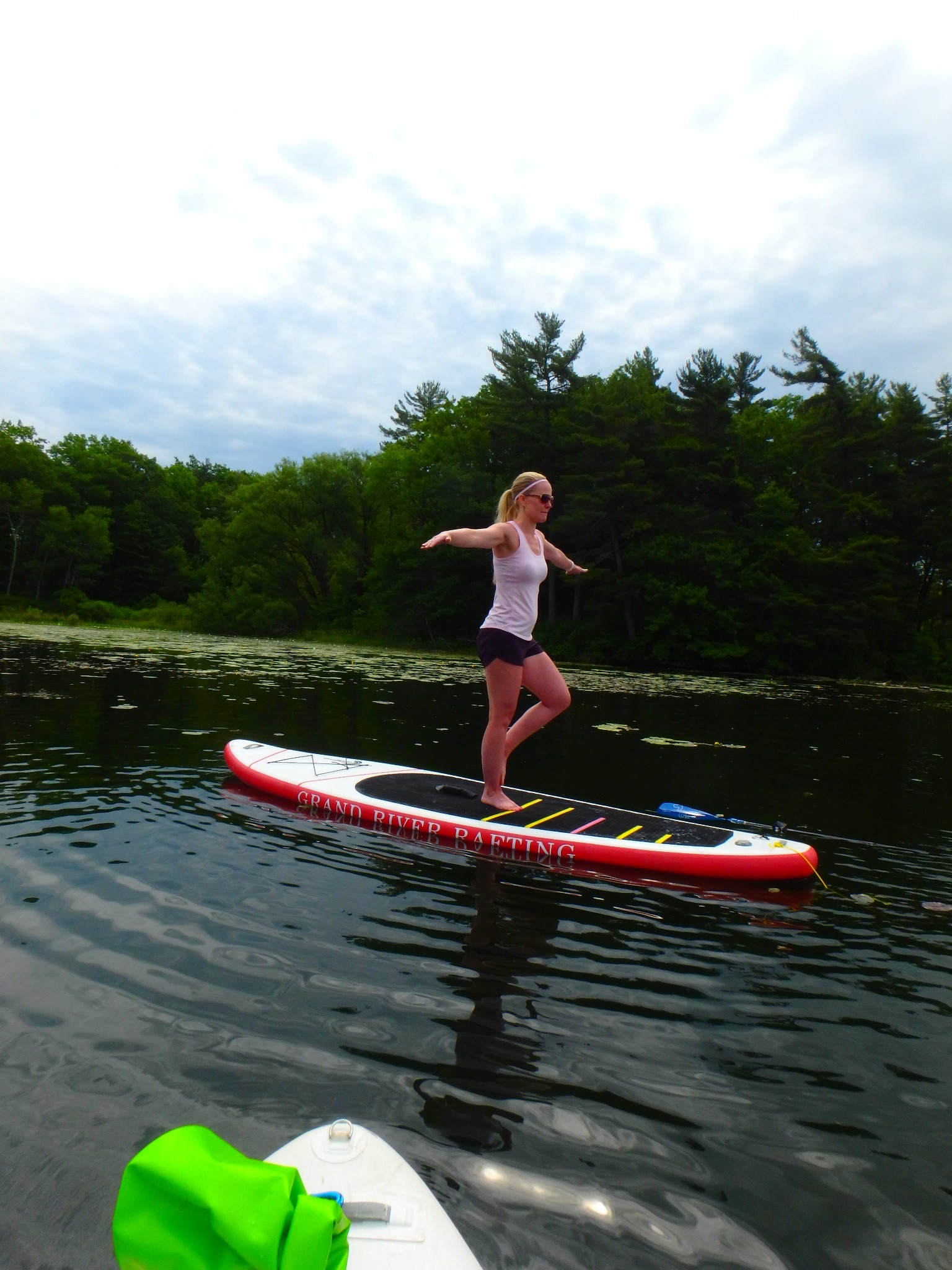 Kayaking Yoga and Meditation June 16, 2018-16
