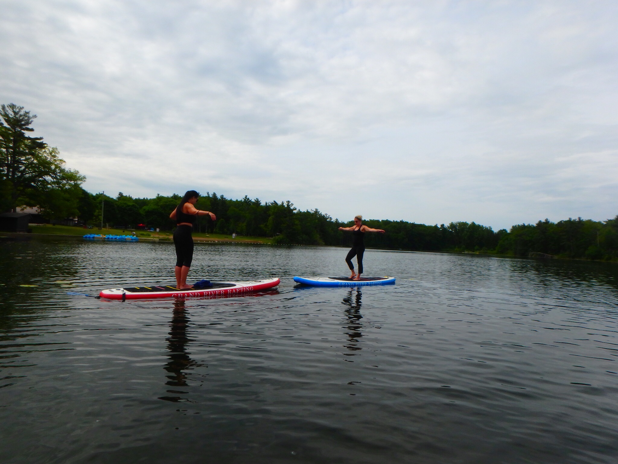 Kayaking Yoga and Meditation June 16, 2018-18