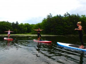 Kayaking Yoga and Meditation June 16, 2018-19