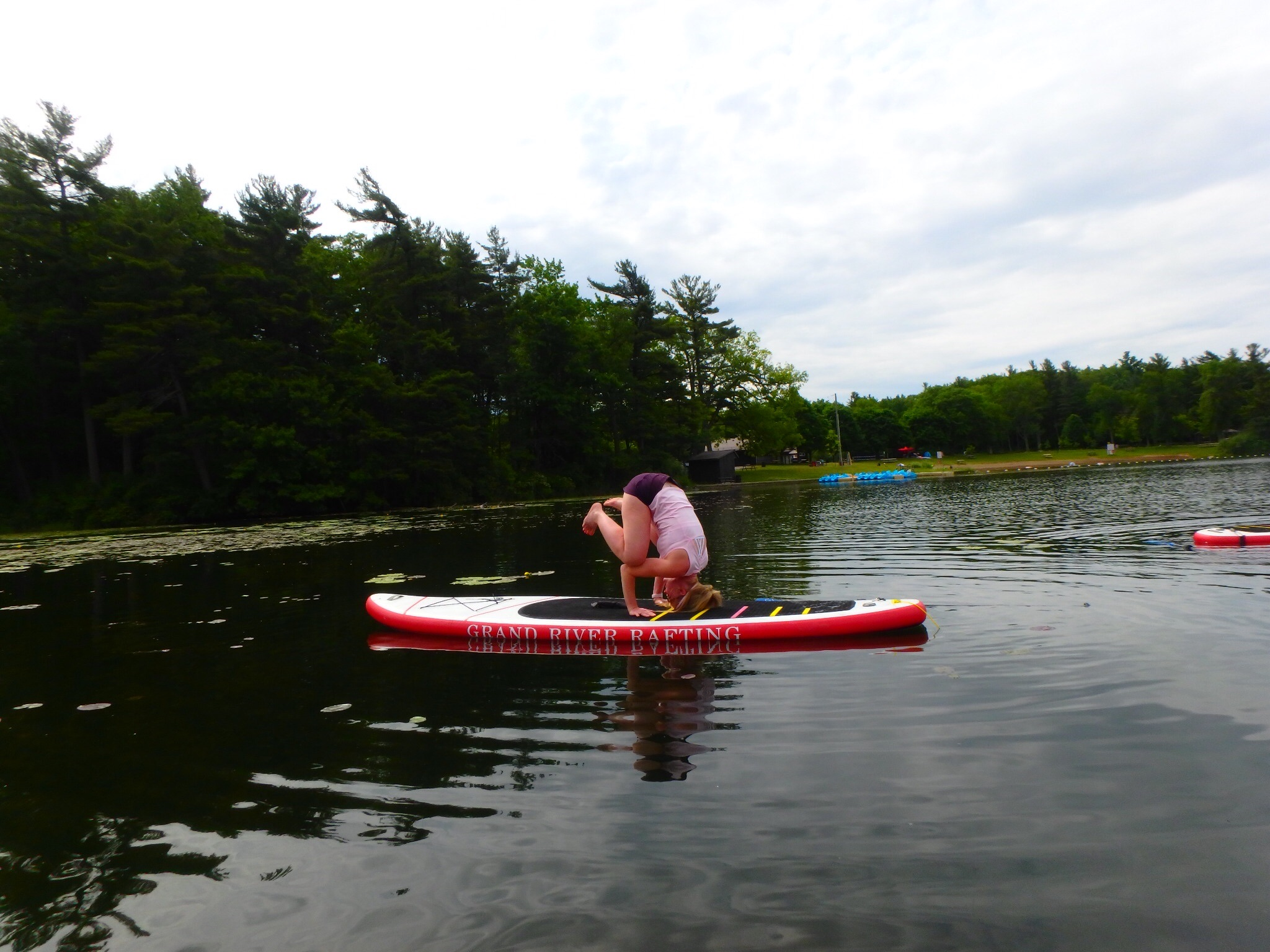 Kayaking Yoga and Meditation June 16, 2018-26