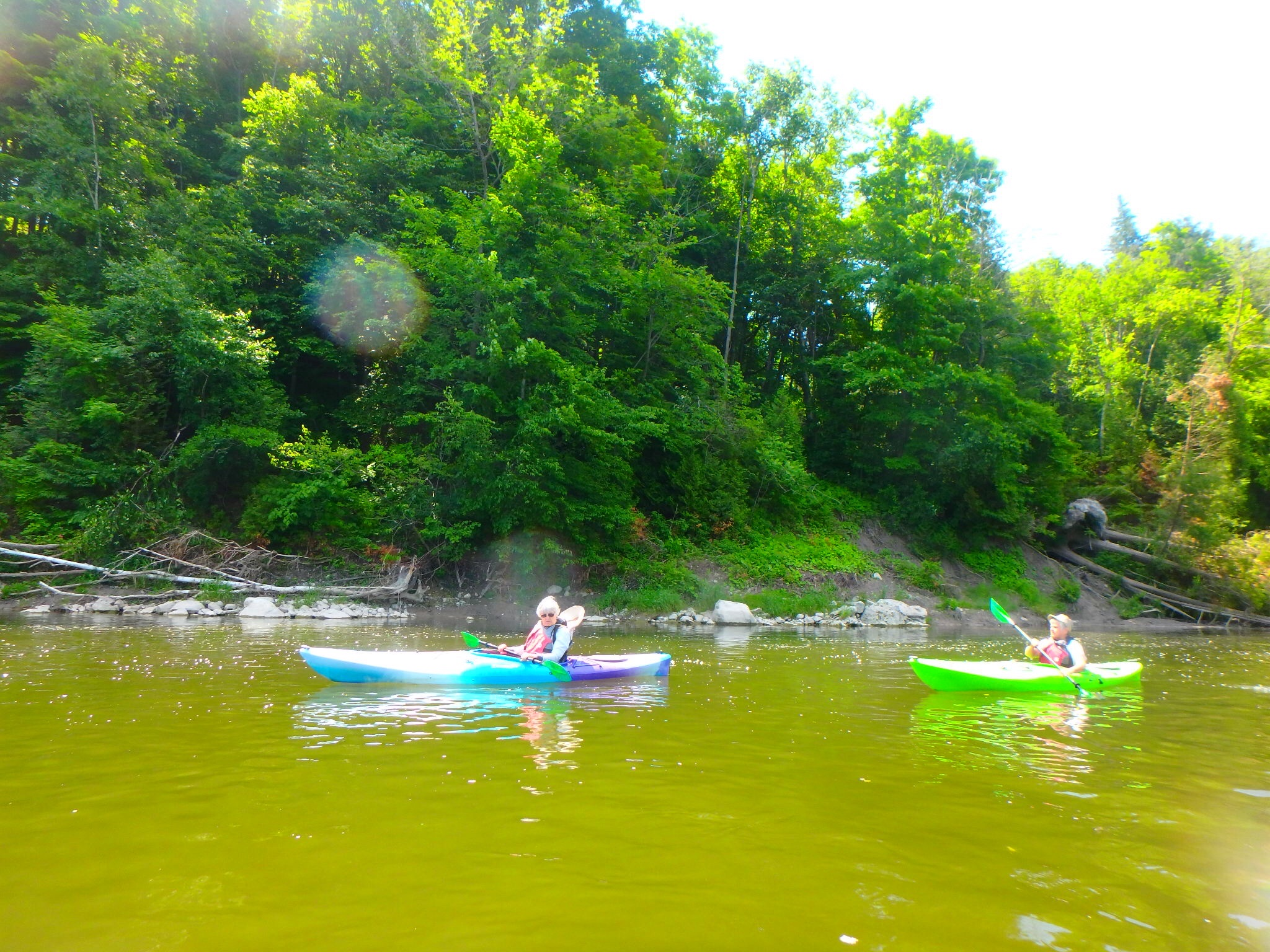 Kayaking Yoga Meditation - Solstice - Jun 21 2018-29
