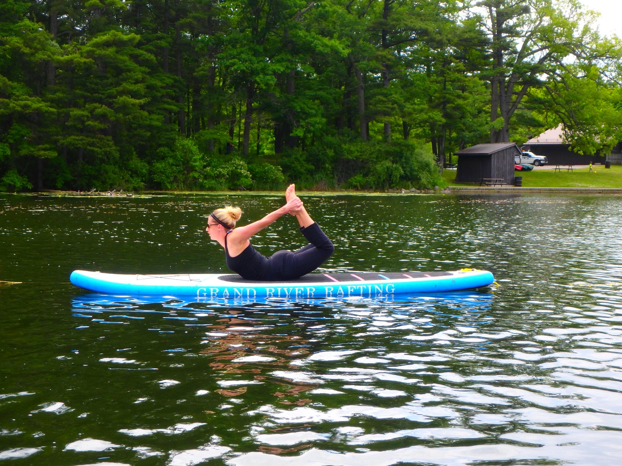 Kayaking Yoga and Meditation June 16, 2018-41