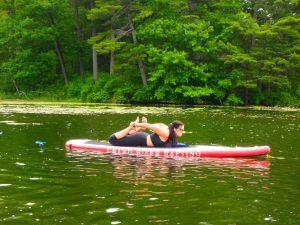 Kayaking Yoga and Meditation June 16, 2018-43