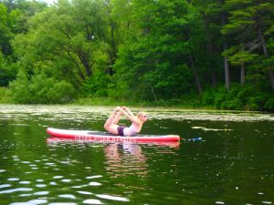 Kayaking Yoga and Meditation June 16, 2018-44