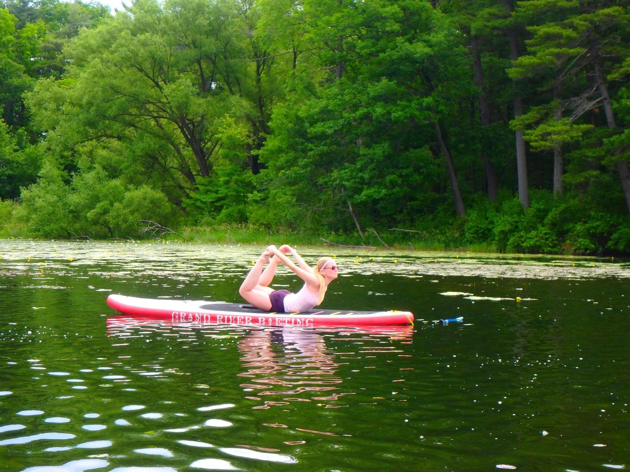 Kayaking Yoga and Meditation June 16, 2018-44
