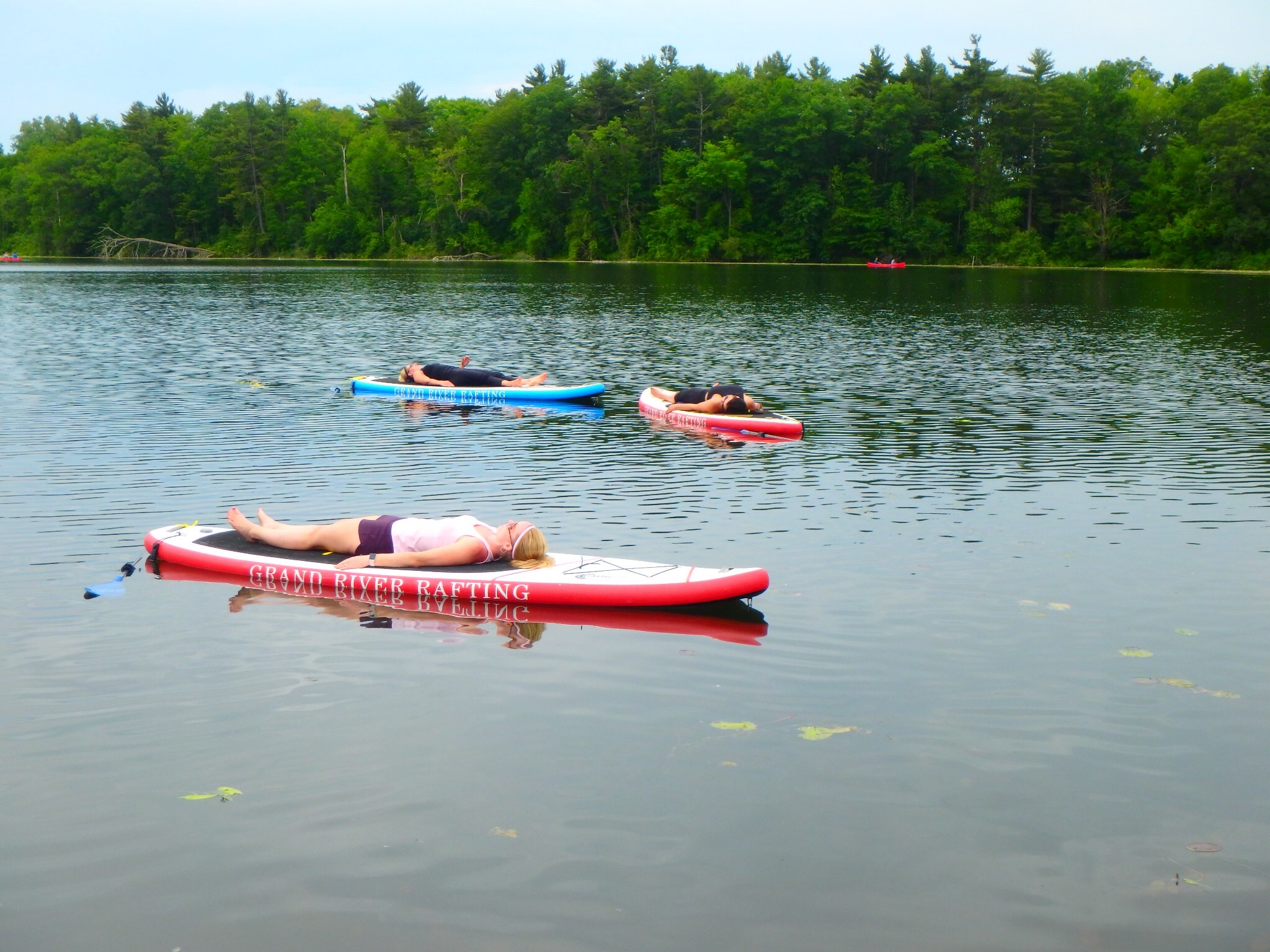Kayaking Yoga and Meditation June 16, 2018-56