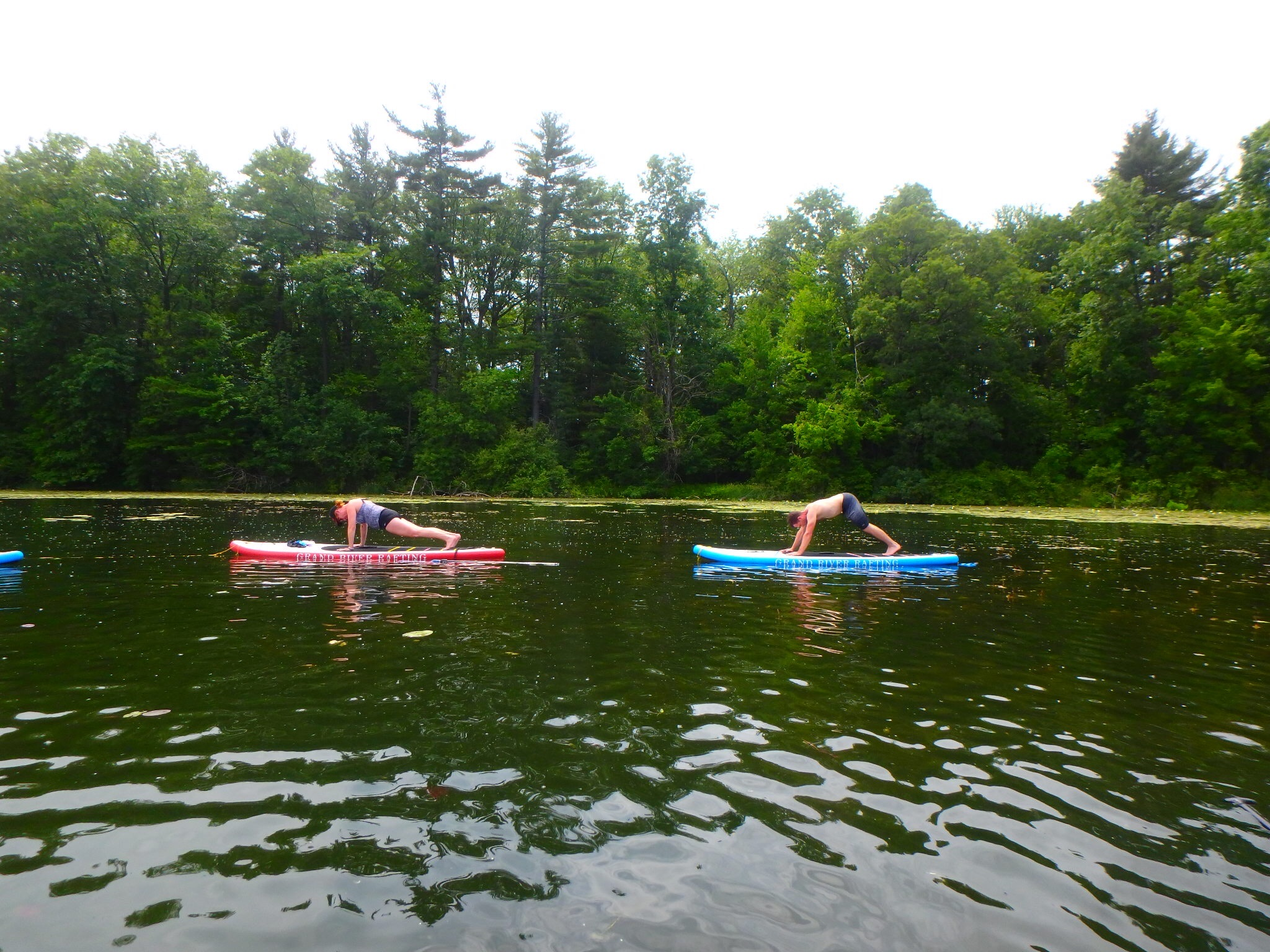 Kayaking Yoga and Meditation June 16, 2018-62
