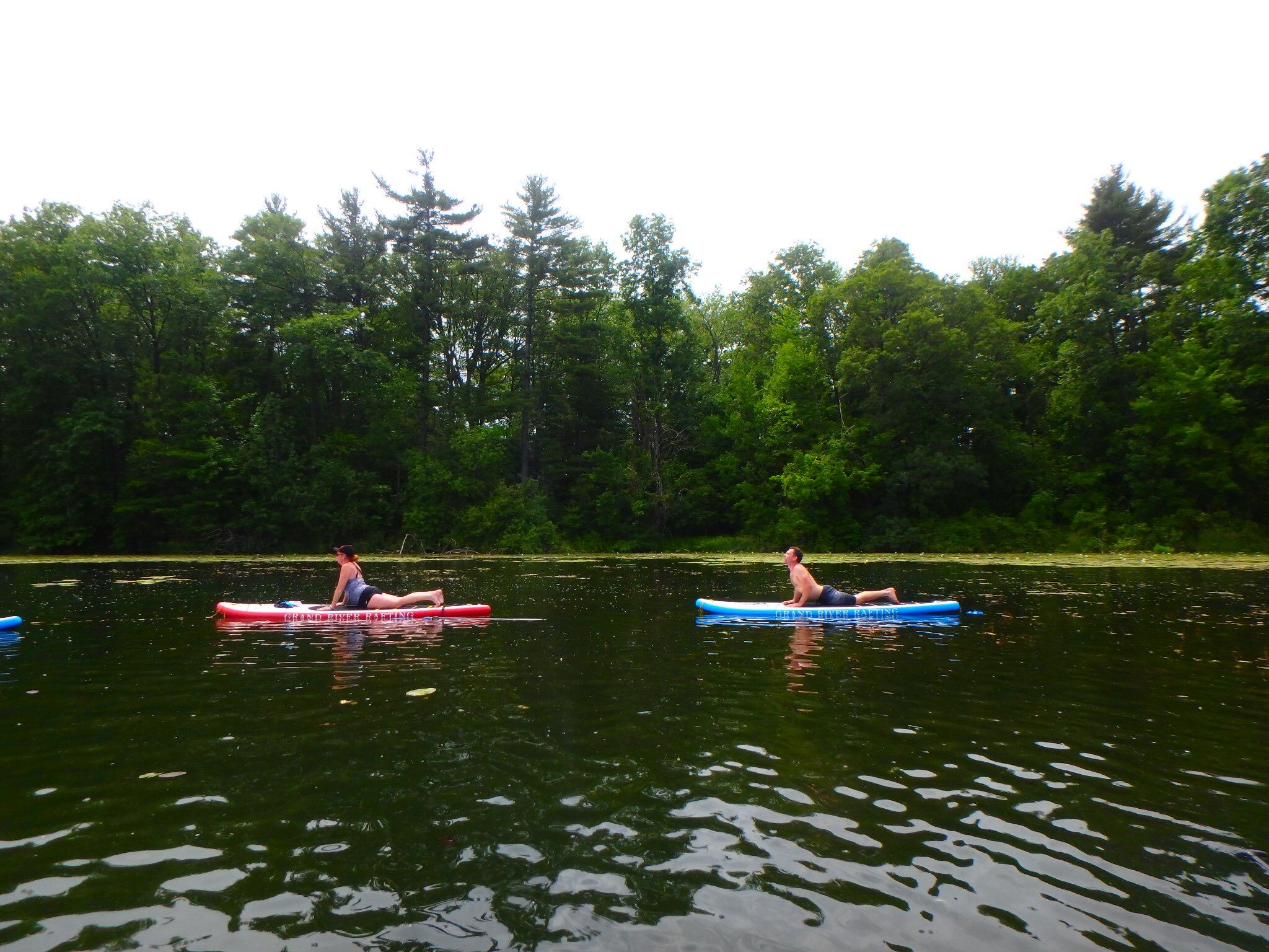 Kayaking Yoga and Meditation June 16, 2018-63