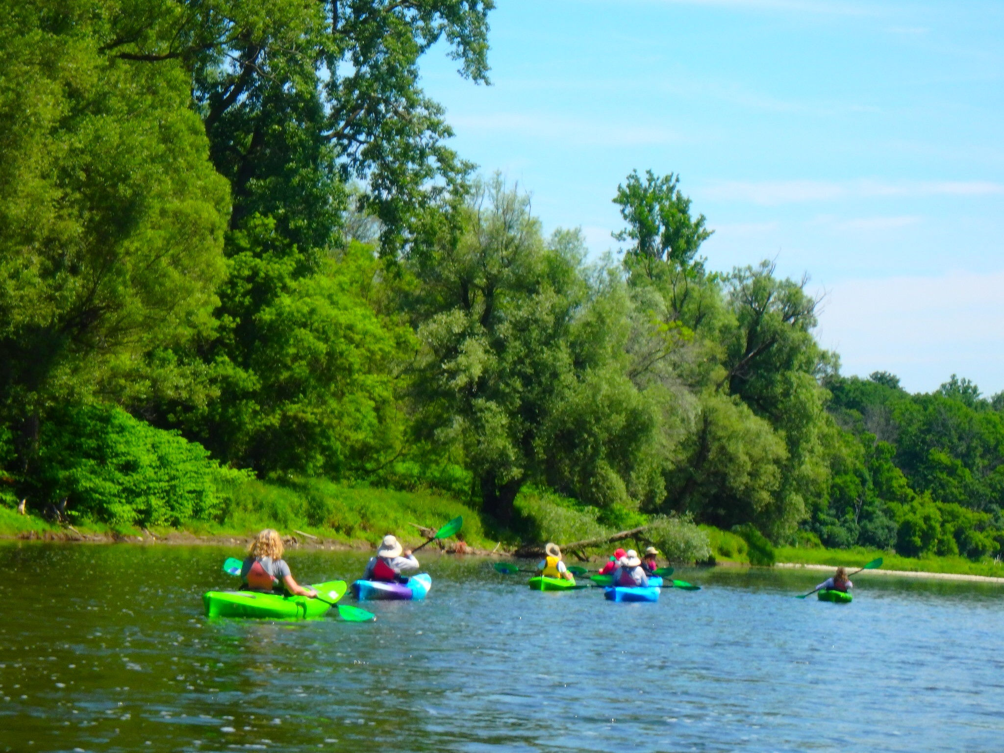 Kayaking Yoga Meditation - Solstice - Jun 21 2018-63