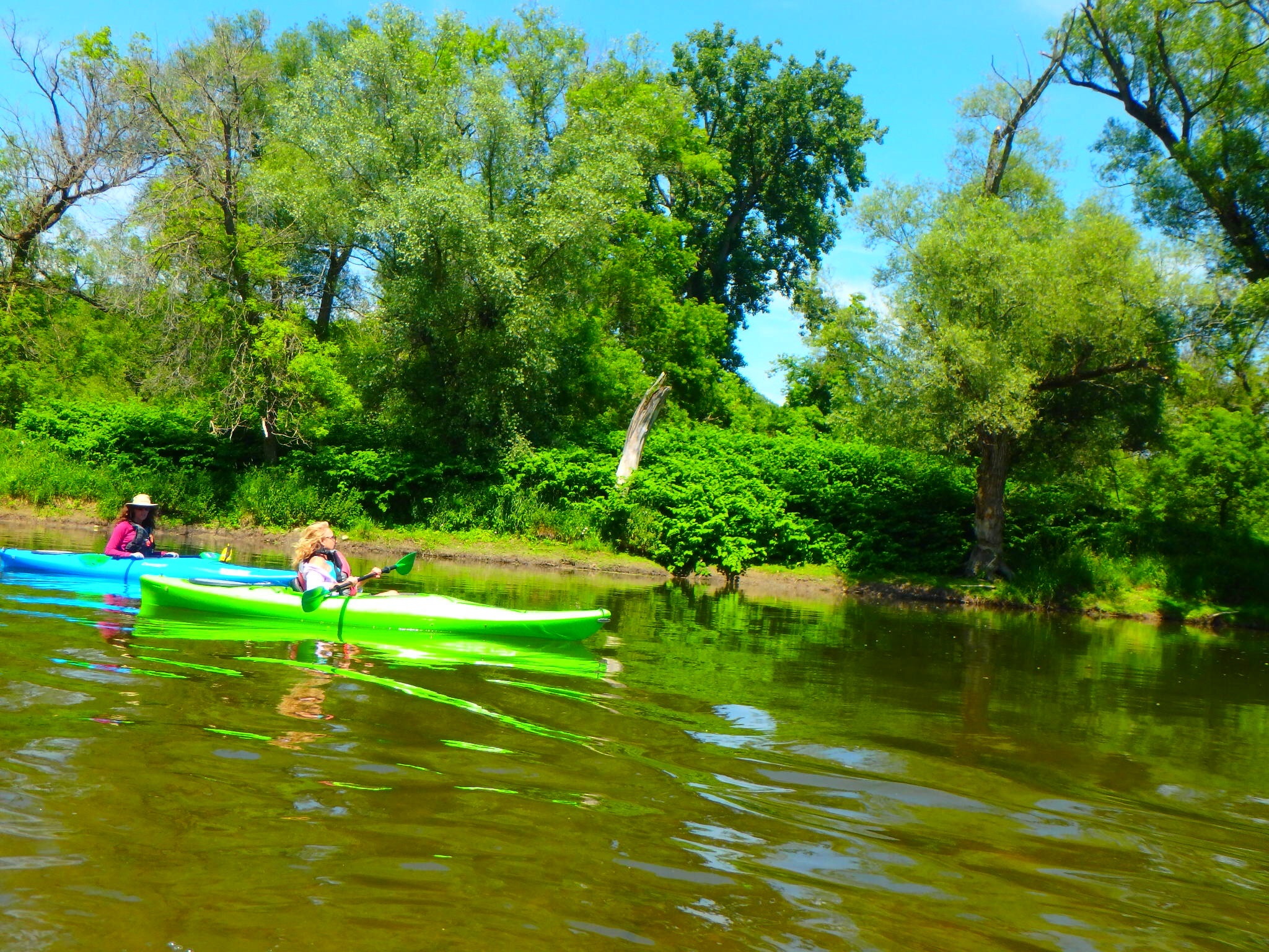 Kayaking Yoga Meditation - Solstice - Jun 21 2018-64