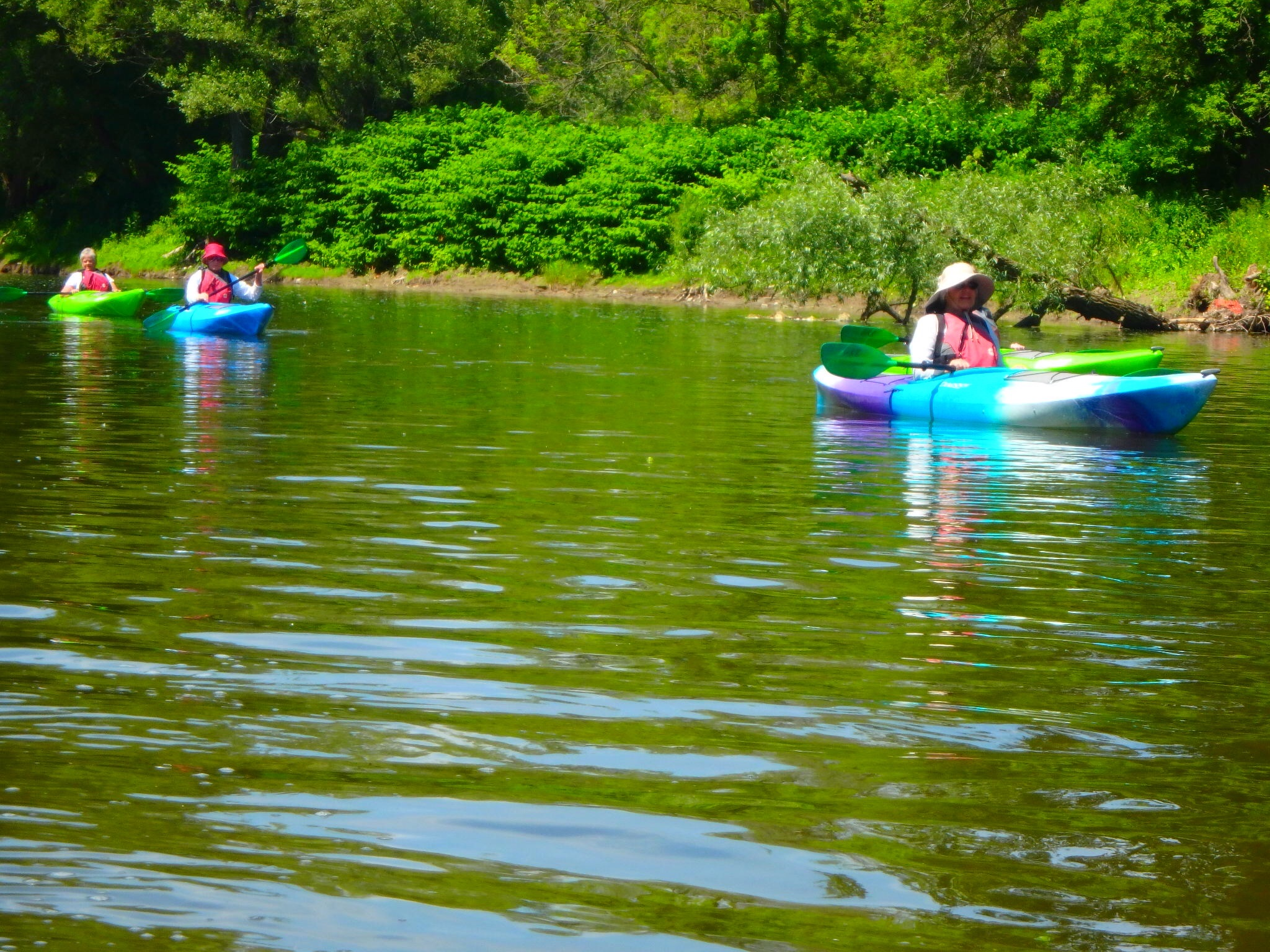 Kayaking Yoga Meditation - Solstice - Jun 21 2018-68
