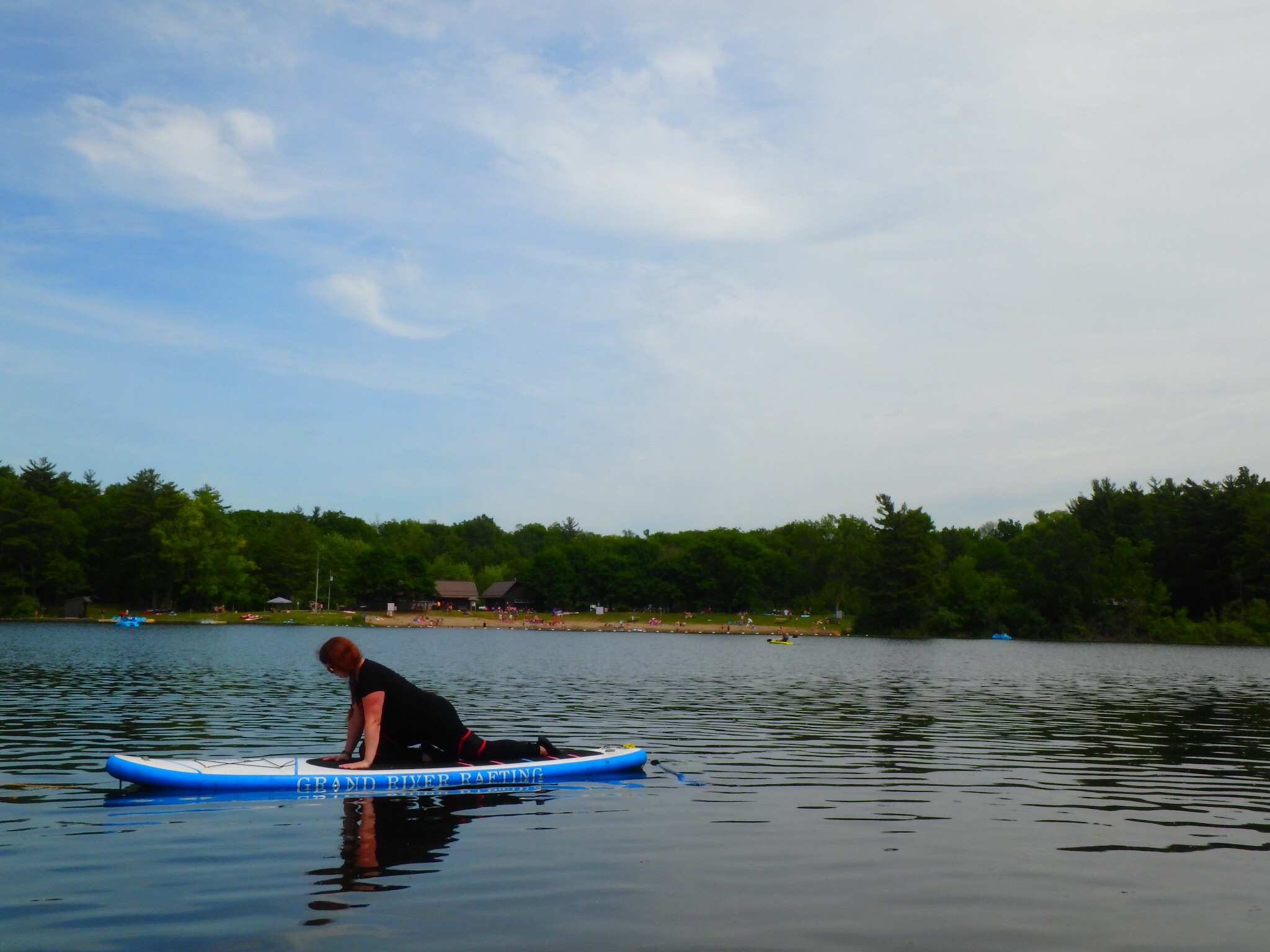 Kayaking Yoga and Meditation June 16, 2018-76