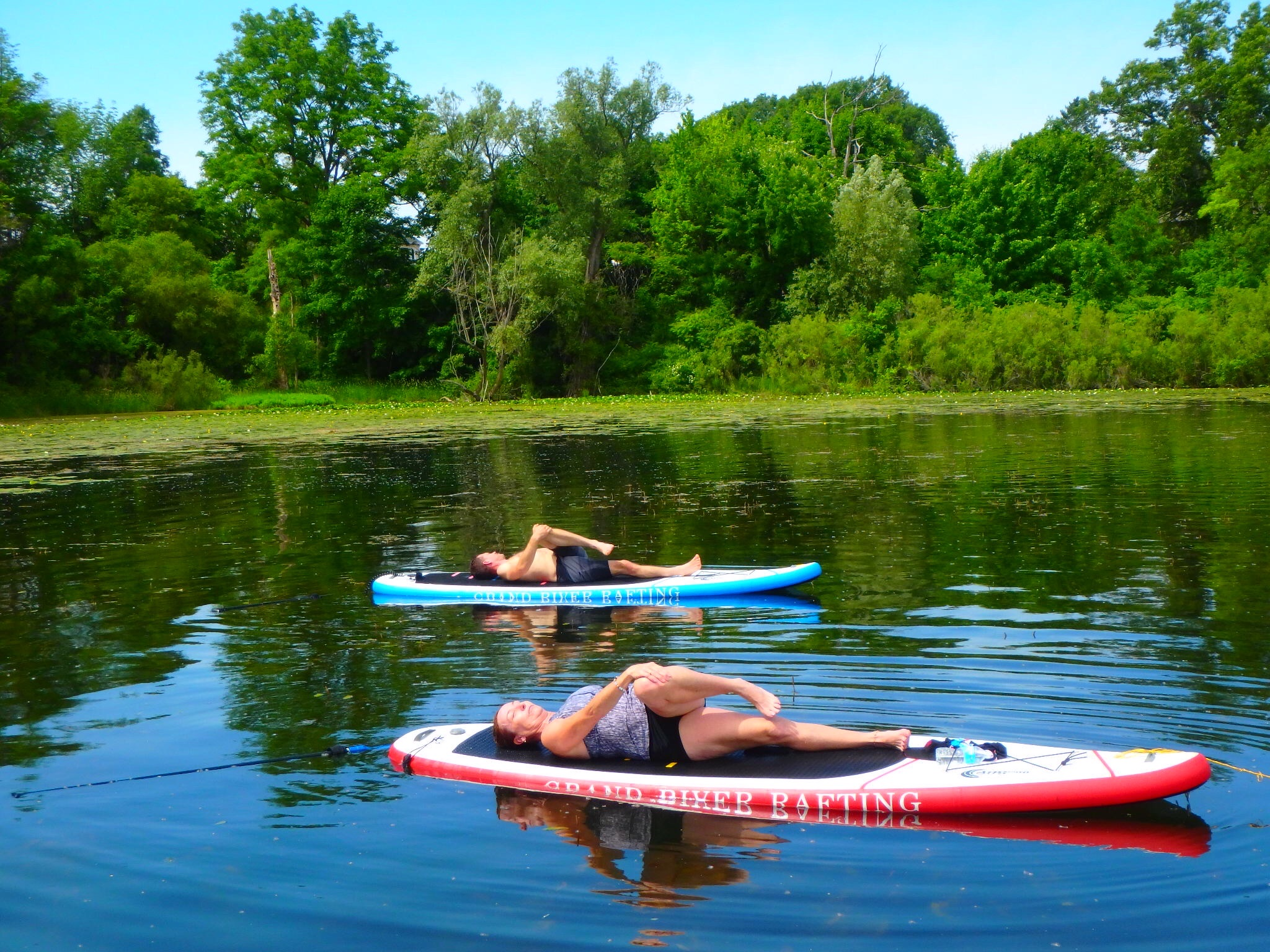 Kayaking Yoga and Meditation June 16, 2018-90