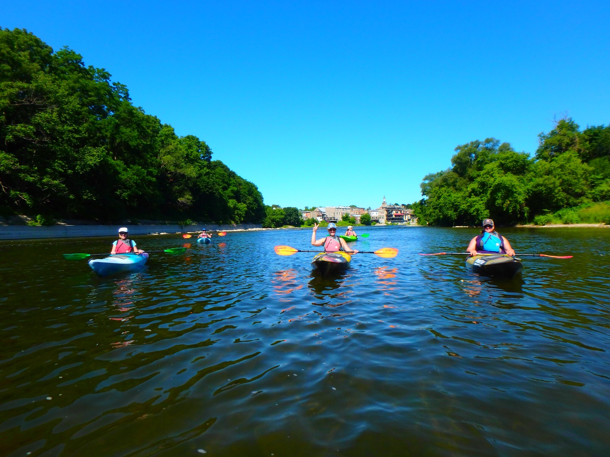 July 8, 2018 Kayaking Yoga and Meditation-7