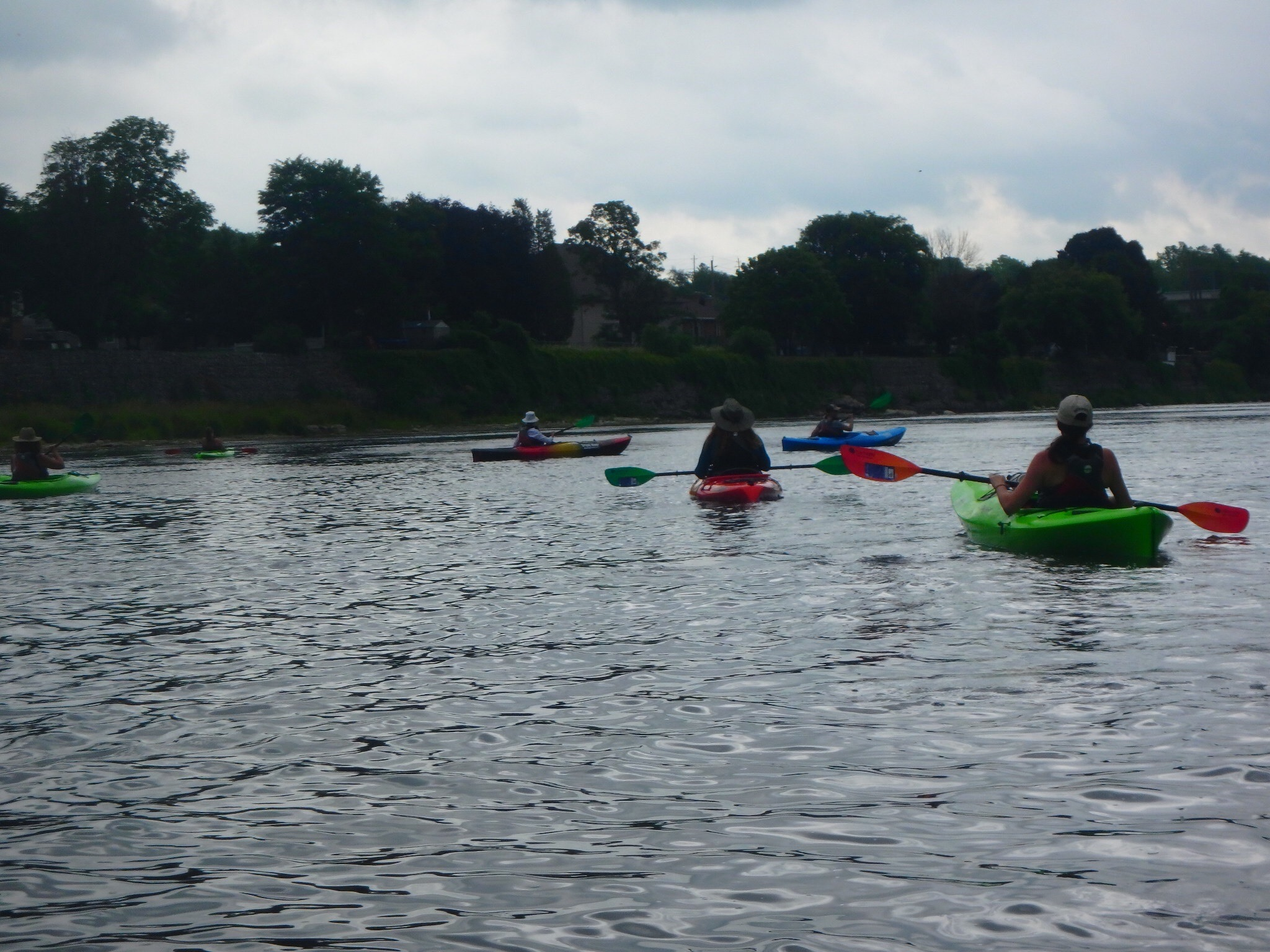 August 1, 2018 - Kayaking, Meditation & Yoga-4