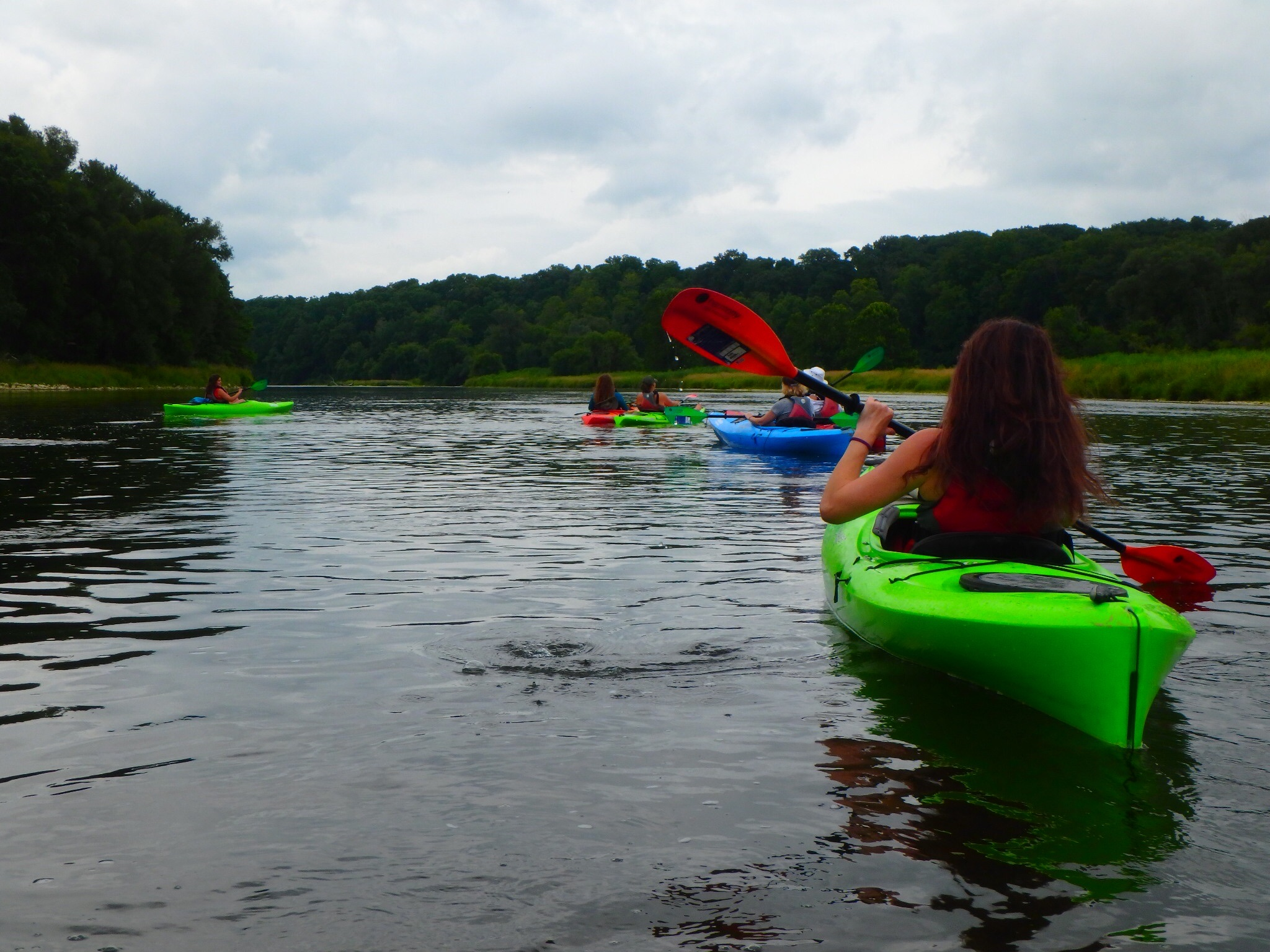 August 1, 2018 - Kayaking, Meditation & Yoga-18