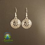 Mandala Om Earrings