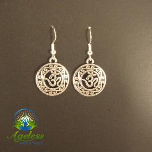 Mandala Ohm Earrings