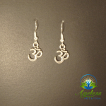 Small Om Earrings