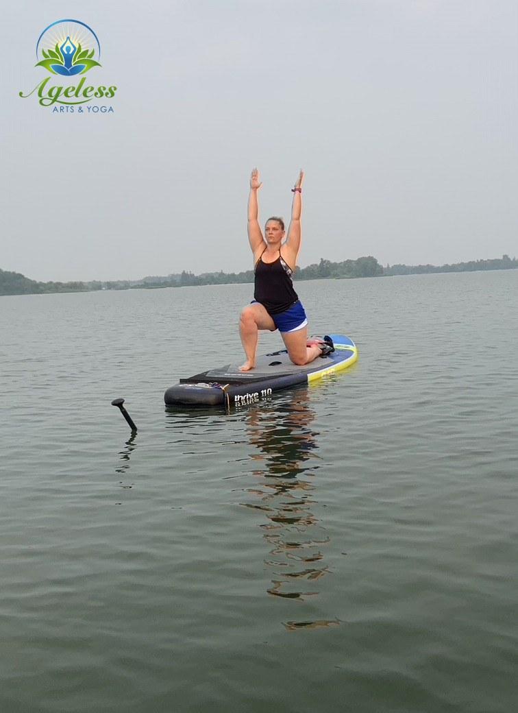 SUP Yoga Guelph Lake - July 19, 2021