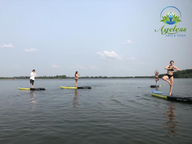 SUP Yoga Guelph Lake July 18, 2021