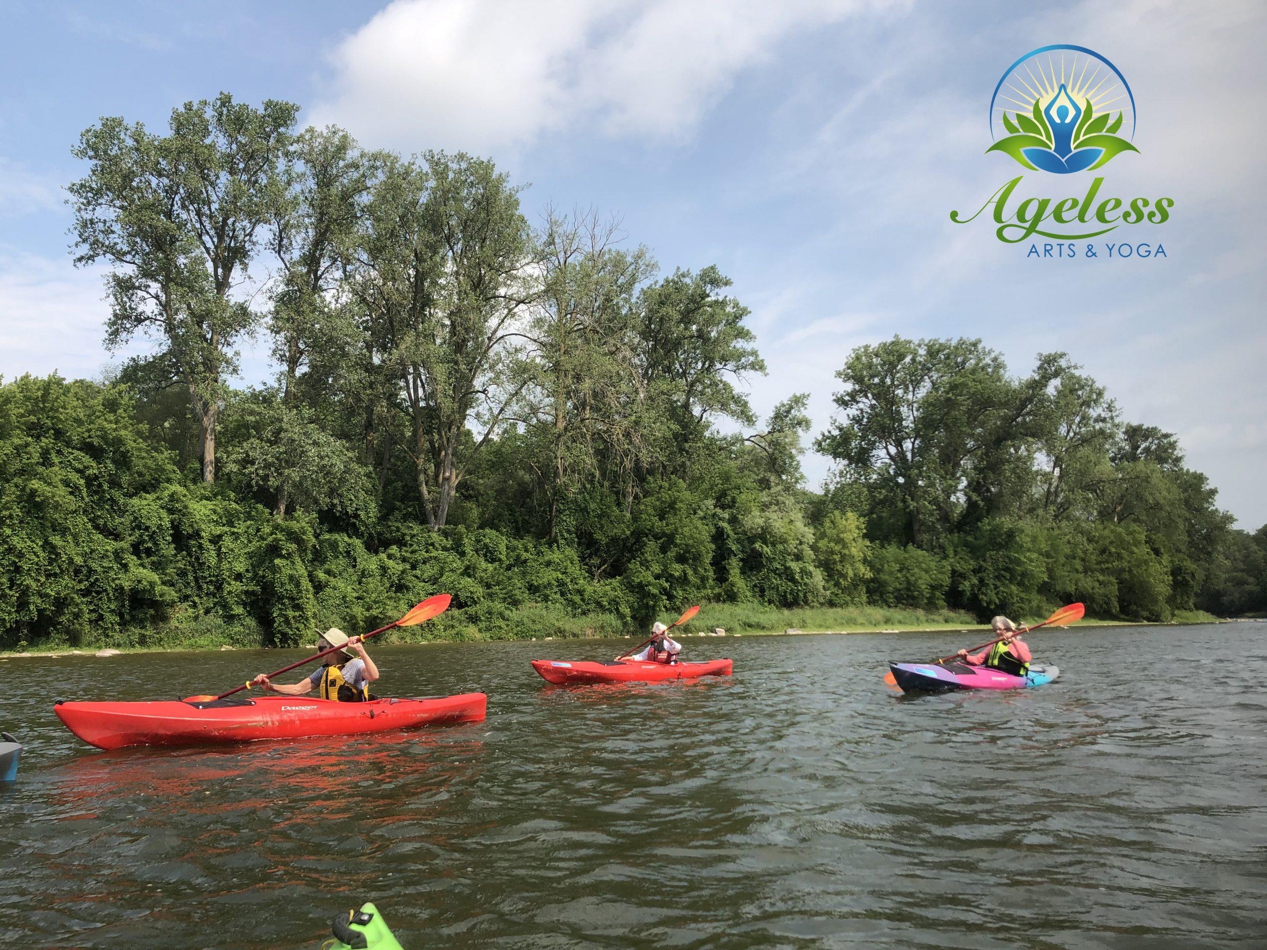 Kayaking, Yoga & Meditation - Paris to Brant July 15, 2021