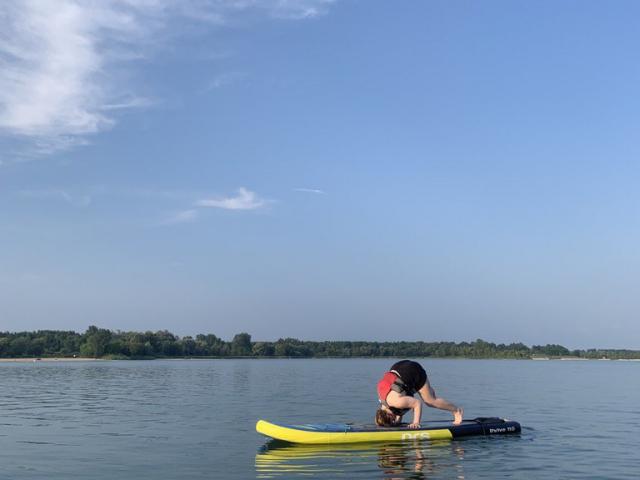 Ageless Arts SUP Yoga - Aug 9, 2021 Guelph Lake