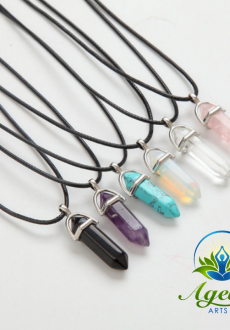 Healing Crystal Pendants