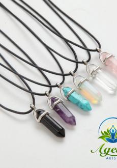 Healing Crystal Pendants