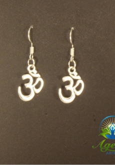 Large OM Earrings