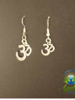 Large _ Small Om Earrings