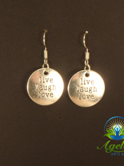 Live Laugh Love Earrings