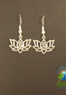 Lotus OM Earrings