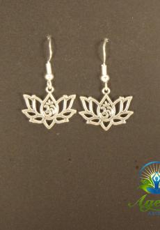 Lotus OM Earrings